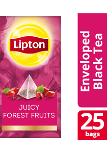 Lipton Pyramid Juicy Forest Fruits 25x1.7g - Lipton Exclusive Selection gives your guests an exceptional tea experience