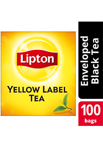 Lipton Yellow Label 100 Tea Bag Envelope - Lipton Yellow Label, world-class tea that helps you increase your profit.