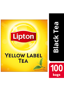 Lipton Yellow Label 100 Tea Bag Non Envelope - Lipton Yellow Label, world-class tea that helps you increase your profit.
