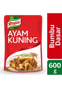 Royco Bumbu Dasar Ayam Kuning 600g - New! Royco Bumbu Dasar Ayam Kuning, in paste format and ready to use for many dishes