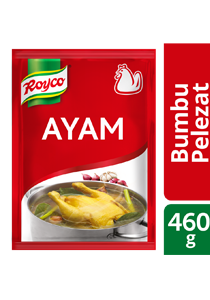 Royco Bumbu Pelezat Rasa Ayam 460g - Royco, with quality meat & spices authentic Indonesian that delivers the delicious meaty & umami flavour.