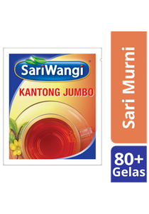 SariMurni Kantong Jumbo 4x20g - SariMurni Kantong Jumbo produces classic, Indonesian tea flavours in large quantity yet in a more practical way