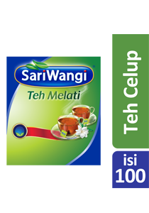 SariWangi Teh Melati Tea Bag 100 - High quality jasmine tea in economical pack for a better margin