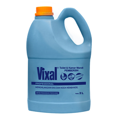 Vixal Pro TC Acid ID 2L - Powerful to remove malodor and tough stains.