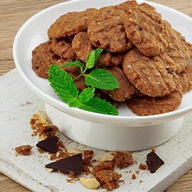 Choco Nutty Cookies