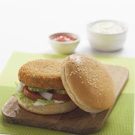 Fish Cake Sandwich