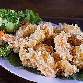 Floured Shrimp