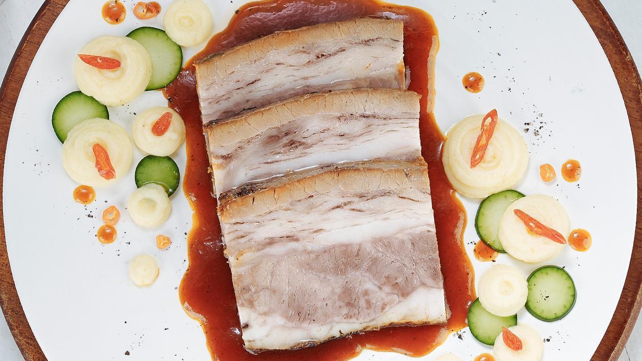 Brisket BBQ by Chef Deden Gumilar