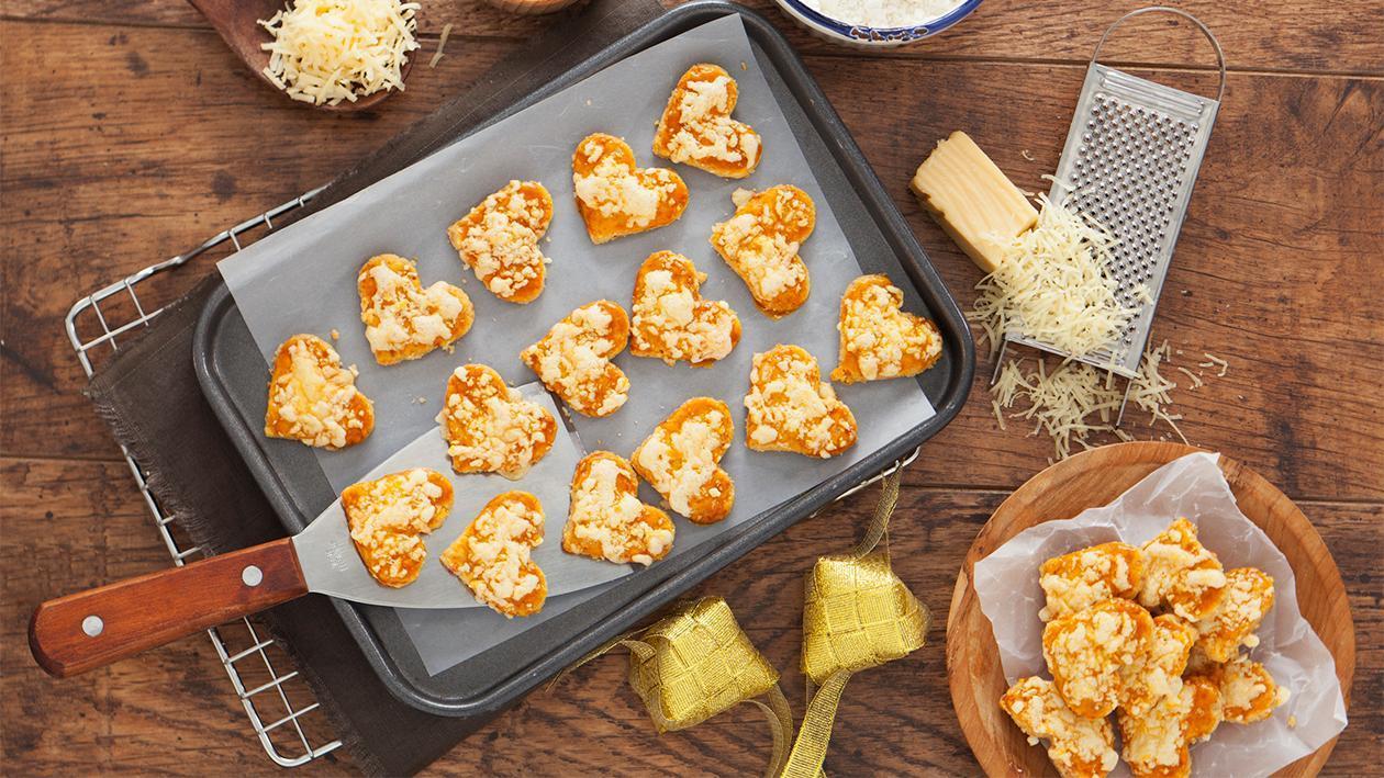 Cheese Crumb Cookies