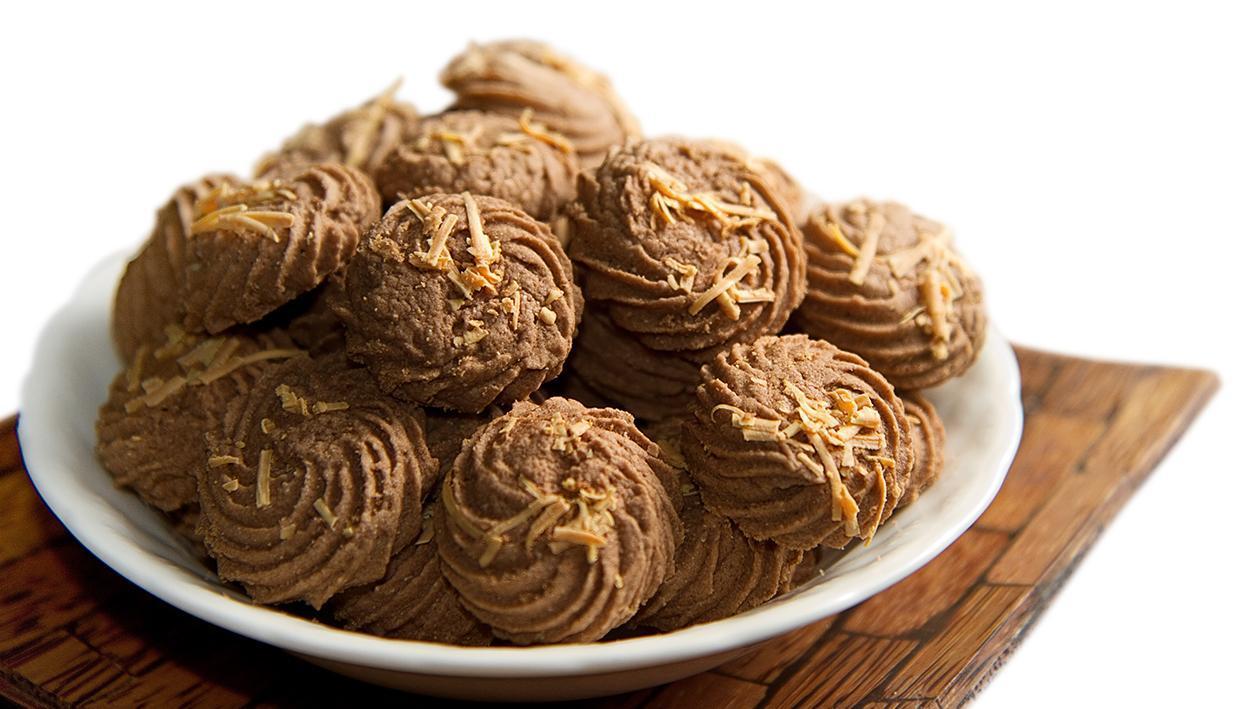 Chocolate Sagoo Cookies