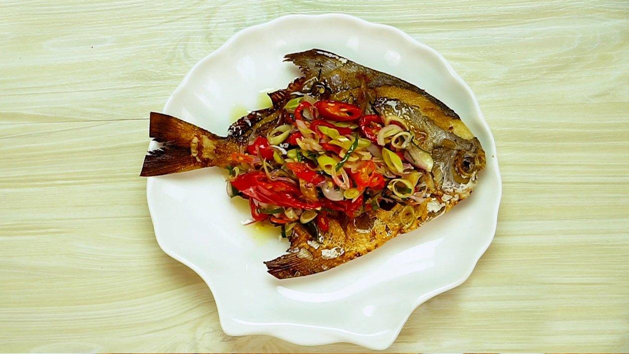 Fried Fish with Sambal Matah