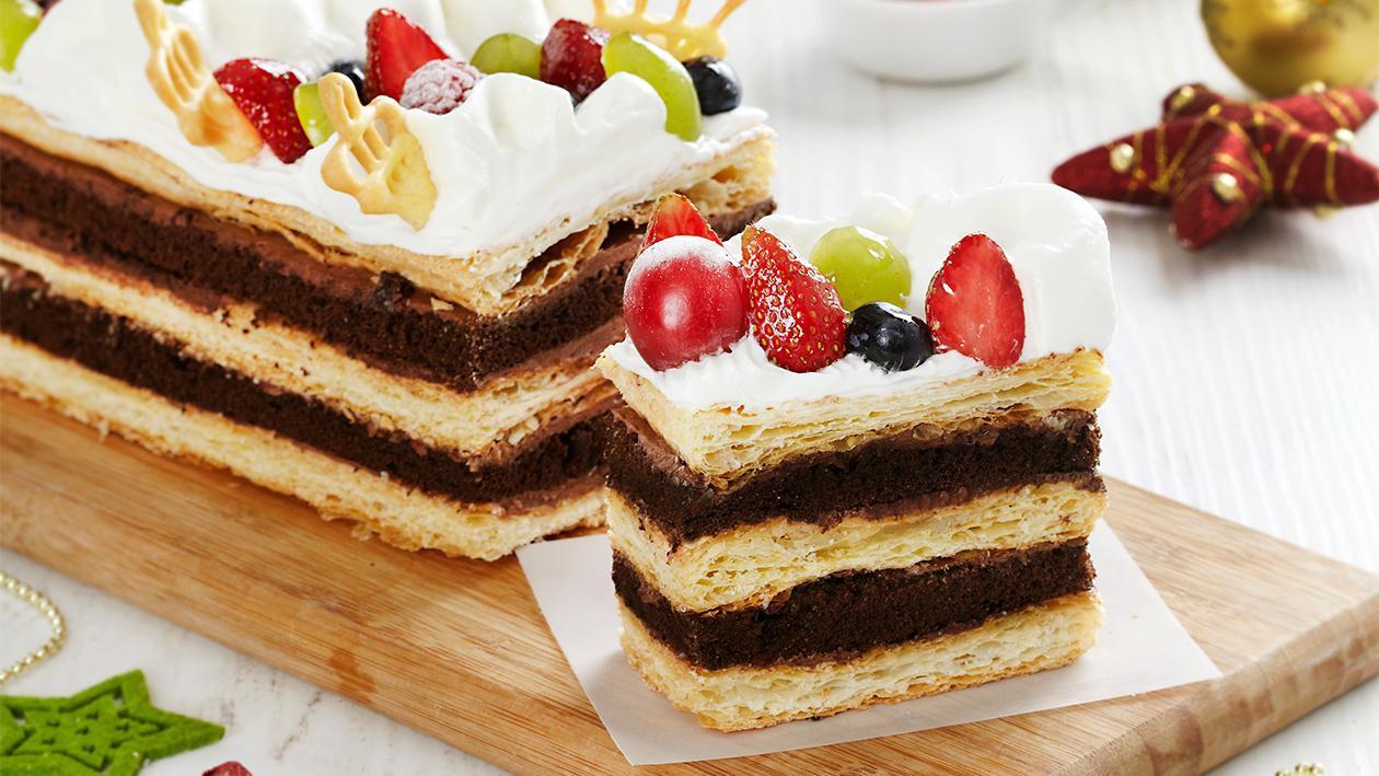 Napoleon Fruit Cake