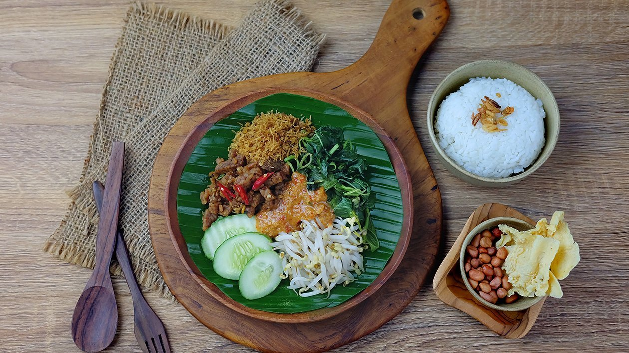 Pecel Rice