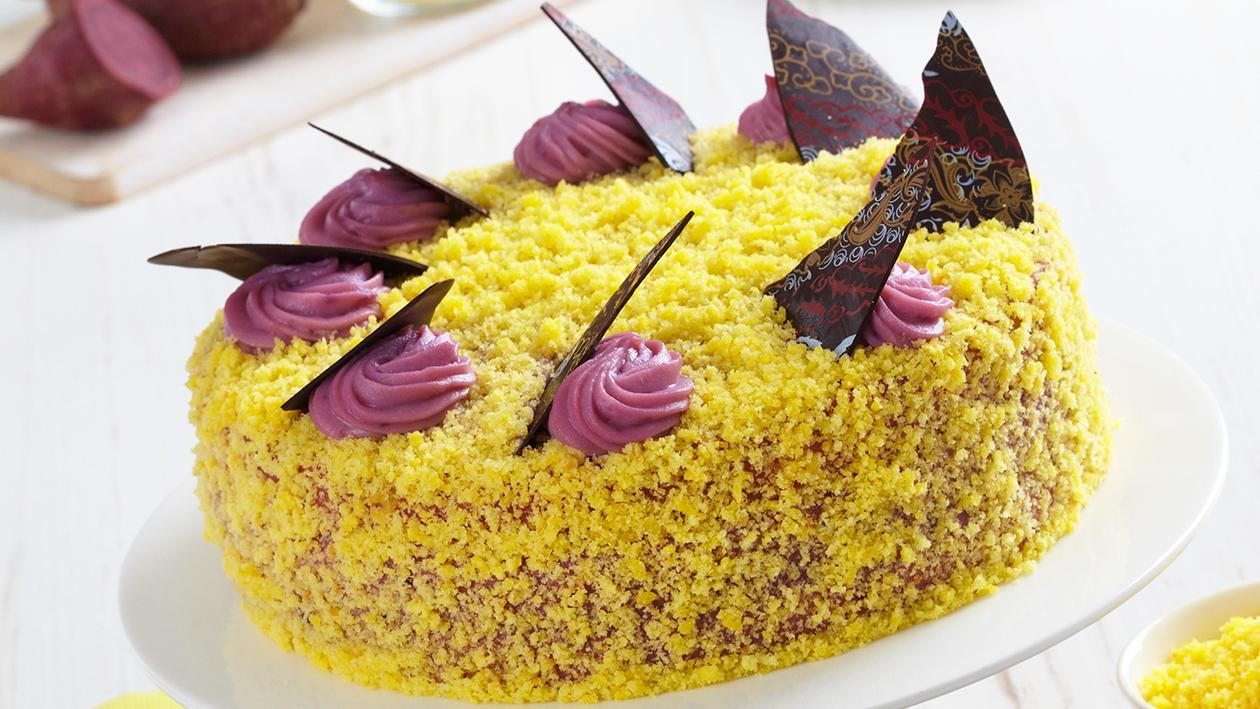 Potato Cream Cake