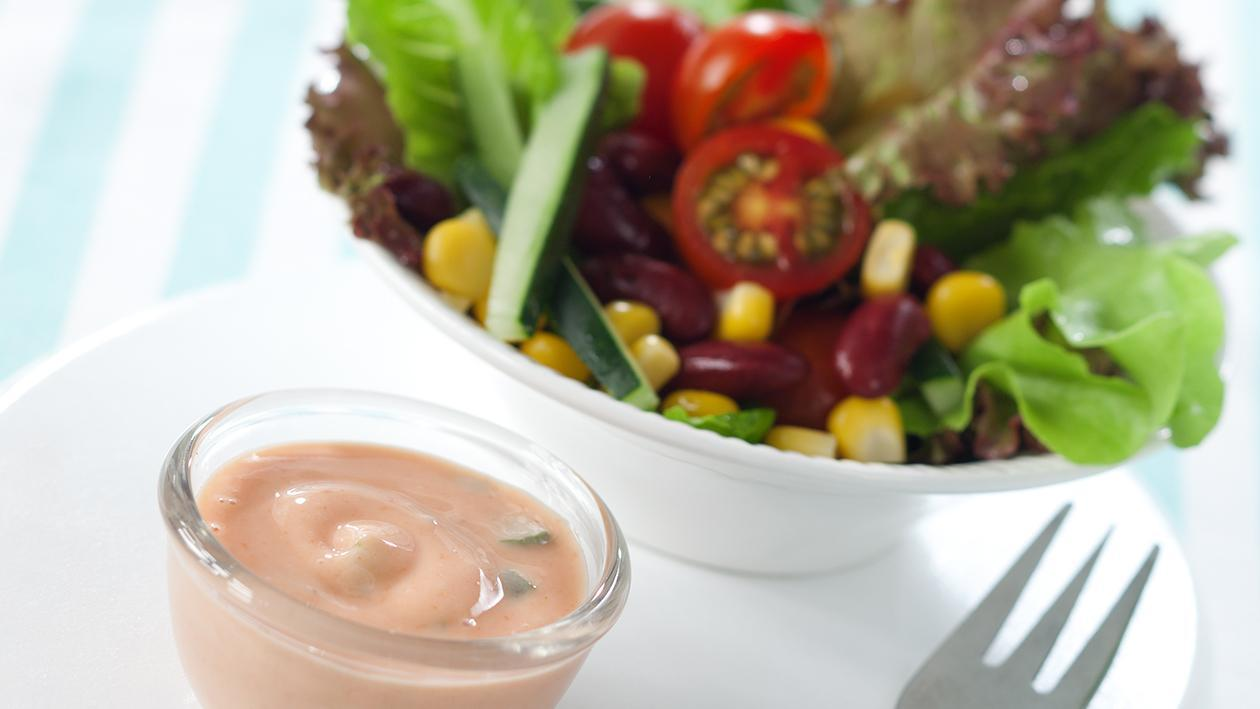 Salad with Thousand Island