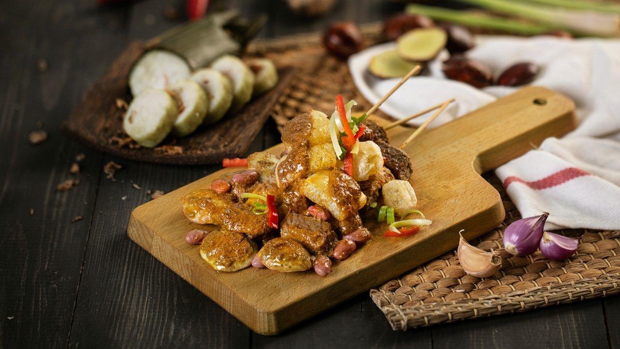 Satay Jereng (Jengkol (Stinky Beans) Rendang)
