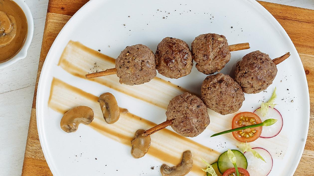 Sauce Meat Balls by Chef Deden Gumilar