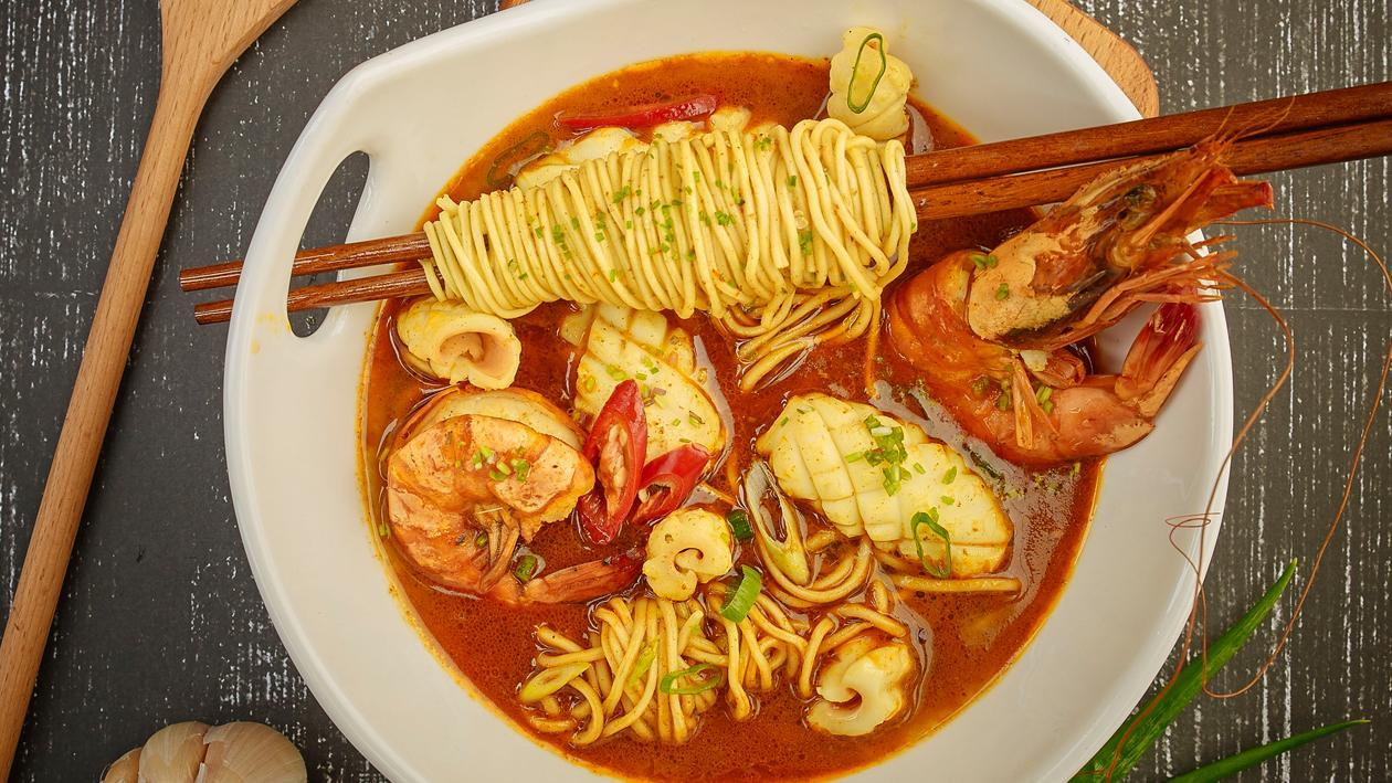 Shrimp Curry Noodle