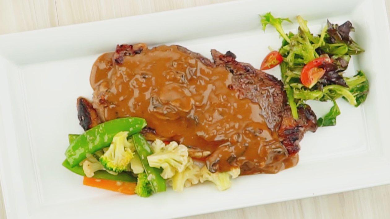 Sirloin Steak Mushroom Sauce