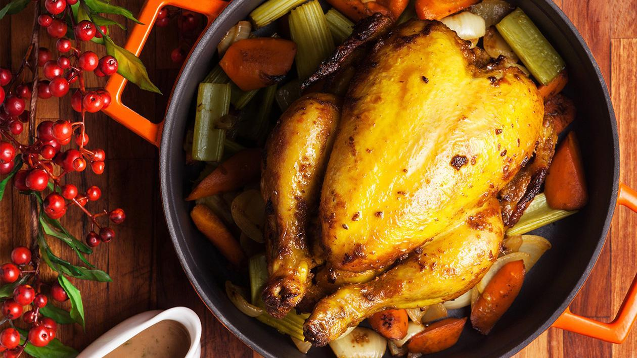Spiced Indonesia-style Roast Chicken