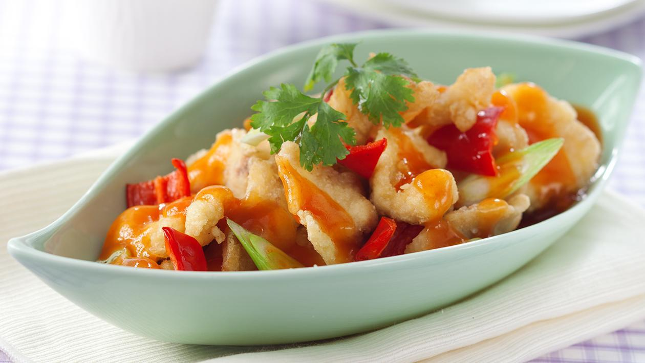 Sweet and Sour Snapper