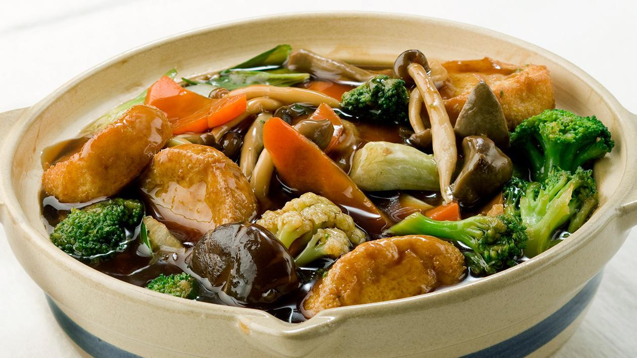 Tofu Seafood Soup