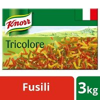 Knorr Pasta Fusilli Tricolore 3kg