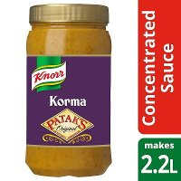 Knorr Patak's Korma Concentrated Sauce 1.1L
