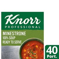 Knorr Professional 100% Soup Minestrone 4x2.5kg