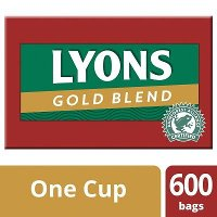 Lyons Gold Blend 600 1 Cup Catering Tea Bags