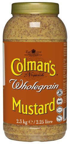 Colman's Wholegrain Mustard 2.25L