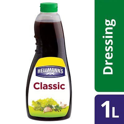 Hellmann's Classic Vinaigrette Dressing 1L