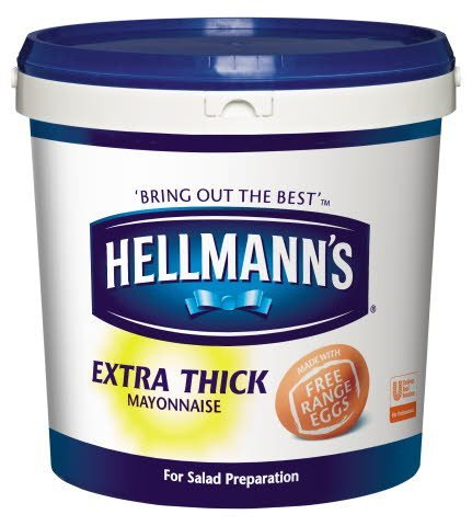 Hellmann's Extra Thick Mayonnaise 10L
