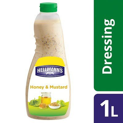 Hellmann's Honey & Mustard Dressing 1L -
