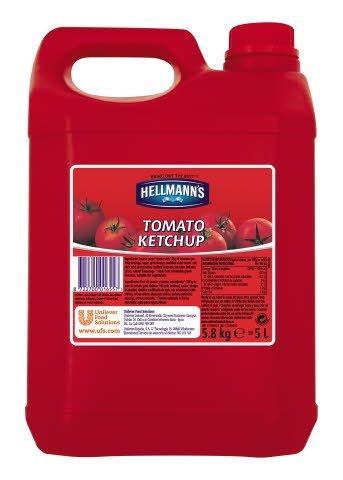 Hellmann's Tomato Ketchup 5L