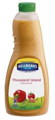Hellmann's Thousand Island Salad Dressing 1L