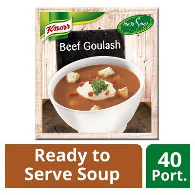 Knorr 100% Soup Beef Goulash 4 x 2.4L