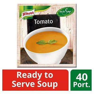 Knorr 100% Soup Tomato 4 x 2.4L