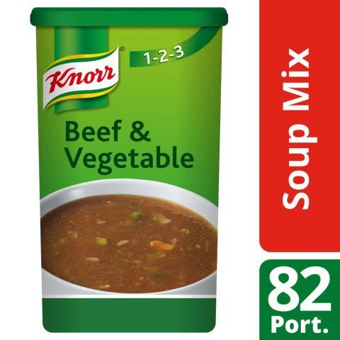 Knorr 123 Beef and Vegetable Soup 14L
