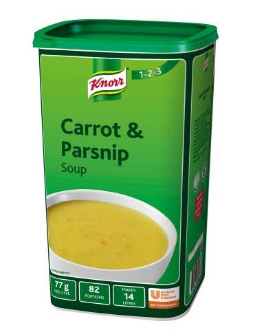 Knorr 123 Carrot and Parsnip Soup 14 Litre
