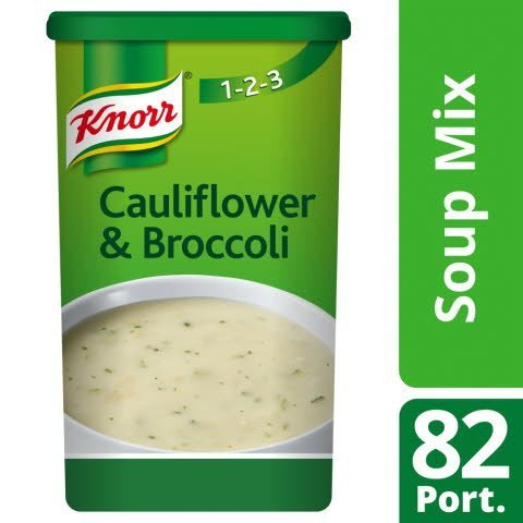 Knorr 123 Cauliflower & Broccoli Soup 14 Litre