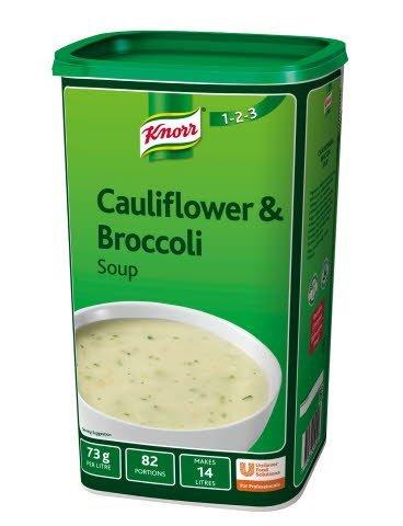 Knorr 123 Cauliflower & Broccoli Soup 14L