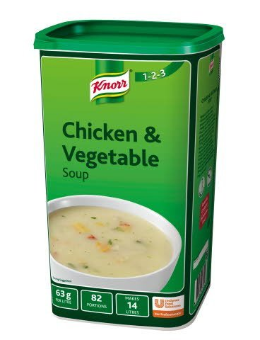 Knorr 123 Chicken & Vegetable Soup 14 Litre