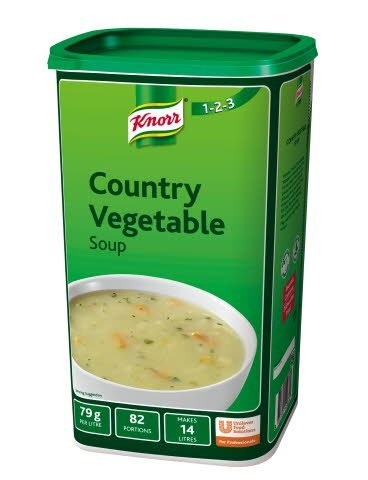 Knorr 123 Country Vegetable Soup 14 Litre