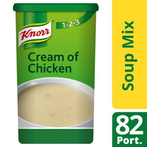 Knorr 123 Cream of Chicken Soup 14 Litre