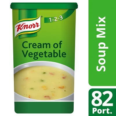 Knorr 123 Cream of Vegetable Soup 14 Litre -