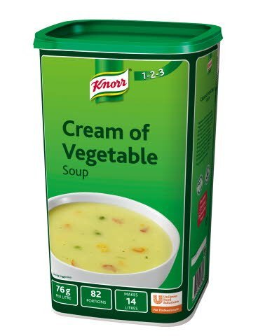 Knorr 123 Cream of Vegetable Soup 14L