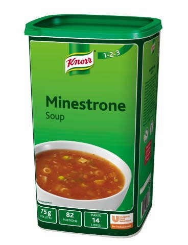 Knorr 123 Minestrone Soup 14 Litre -