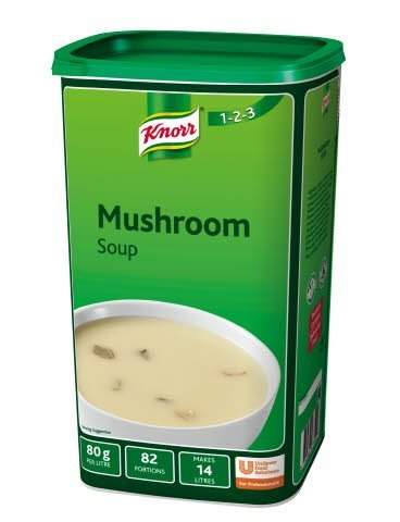 Knorr 123 Mushroom Soup 14L