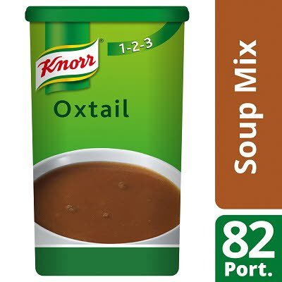 Knorr 123 Oxtail Soup 14 Litre